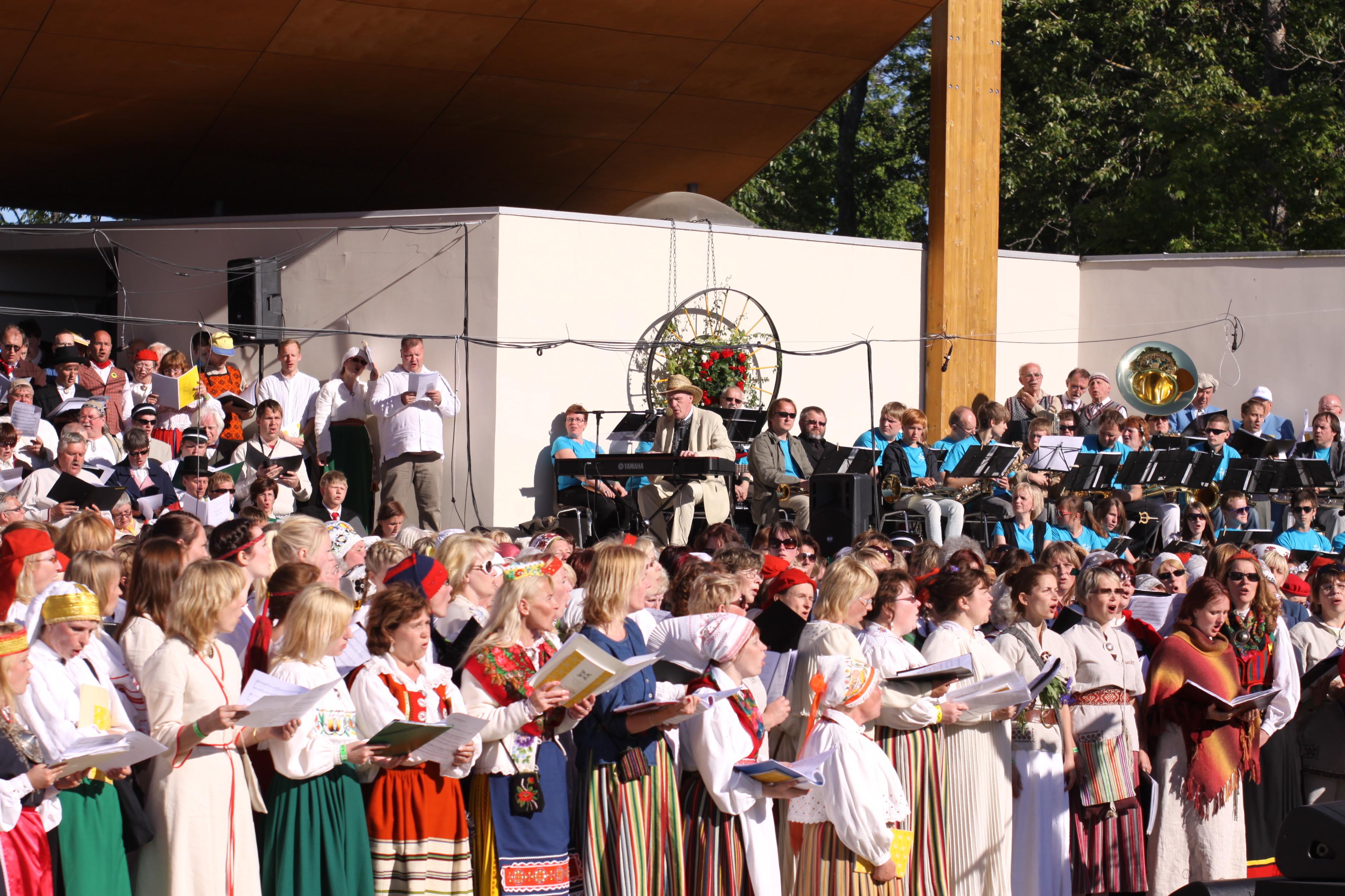 Laulu- ja tantsupeo liikumisega seotud suvesündmuste kalender